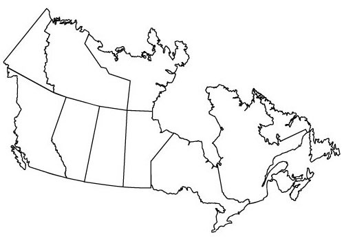 Beautiful Map Of Provinces I Visited