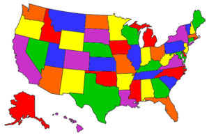 Visited States Map: States Visited Map, States Ive Been To Map, Map ...